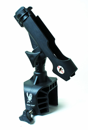 Eagle Claw Clamp-On Aluminum Boat Rod Holder
